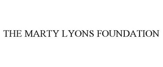 mark for THE MARTY LYONS FOUNDATION, trademark #85764498