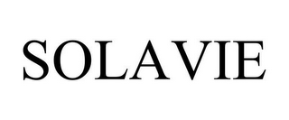 mark for SOLAVIE, trademark #85764605