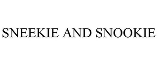 mark for SNEEKIE AND SNOOKIE, trademark #85764923
