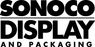 mark for SONOCO DISPLAY AND PACKAGING, trademark #85765343