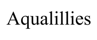 mark for AQUALILLIES, trademark #85765399
