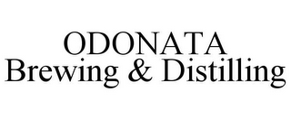 mark for ODONATA BREWING & DISTILLING, trademark #85765407
