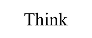mark for THINK, trademark #85765479