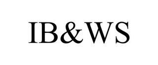 mark for IB&WS, trademark #85765611