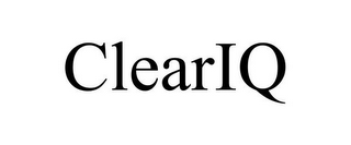 mark for CLEARIQ, trademark #85765728