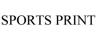 mark for SPORTS PRINT, trademark #85765940