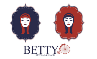mark for BETTY DUVALLE & CHANG, trademark #85766174