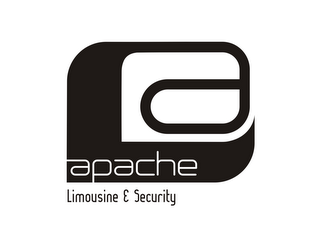 mark for A APACHE LIMOUSINE & SECURITY, trademark #85766175