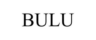 mark for BULU, trademark #85766212