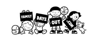 mark for FAMILY DAYS OUT .COM, trademark #85766303