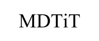 mark for MDTIT, trademark #85766604