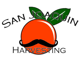 mark for SAN JOAQUIN HARVESTING, trademark #85766848