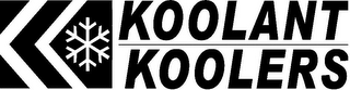 mark for KK KOOLANT KOOLERS, trademark #85766927
