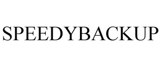 mark for SPEEDYBACKUP, trademark #85766956