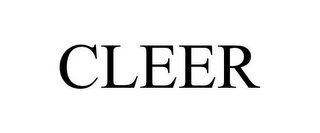mark for CLEER, trademark #85767215