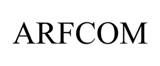 mark for ARFCOM, trademark #85767301
