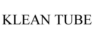 mark for KLEAN TUBE, trademark #85767463