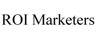 mark for ROI MARKETERS, trademark #85767480