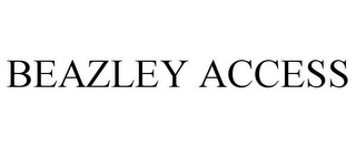 mark for BEAZLEY ACCESS, trademark #85767484