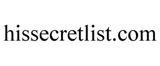 mark for HISSECRETLIST.COM, trademark #85767491