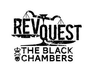 mark for REVQUEST THE BLACK CHAMBERS, trademark #85767668