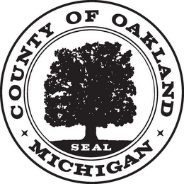 mark for COUNTY OF OAKLAND MICHIGAN SEAL, trademark #85767799