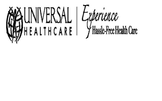 mark for UNIVERSAL HEALTHCARE EXPERIENCE HASSLE FREE HEALTH CARE, trademark #85767908