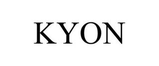 mark for KYON, trademark #85768134
