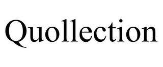 mark for QUOLLECTION, trademark #85768451
