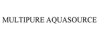 mark for MULTIPURE AQUASOURCE, trademark #85768560