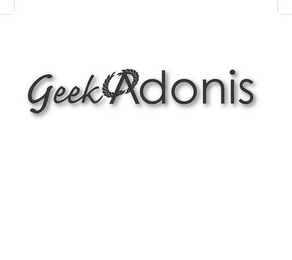 mark for GEEK ADONIS, trademark #85768914