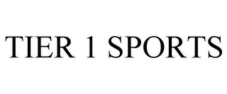 mark for TIER 1 SPORTS, trademark #85769207