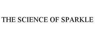 mark for THE SCIENCE OF SPARKLE, trademark #85769400