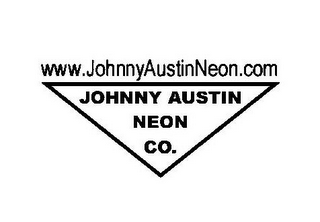 mark for WWW.JOHNNYAUSTINNEON.COMJOHNNY AUSTIN NEON CO., trademark #85769450