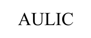 mark for AULIC, trademark #85769607