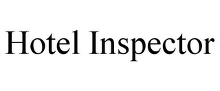 mark for HOTEL INSPECTOR, trademark #85769710