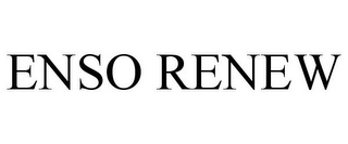 mark for ENSO RENEW, trademark #85770035