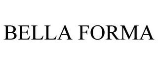 mark for BELLA FORMA, trademark #85770186