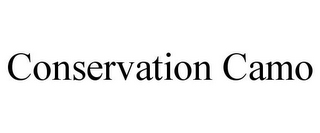mark for CONSERVATION CAMO, trademark #85770222