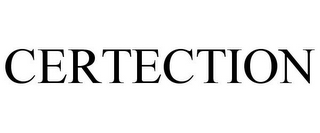 mark for CERTECTION, trademark #85770275