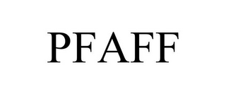 mark for PFAFF, trademark #85770383