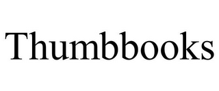 mark for THUMBBOOKS, trademark #85770706