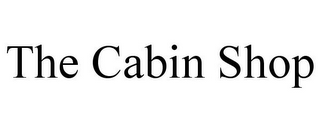 mark for THE CABIN SHOP, trademark #85770750