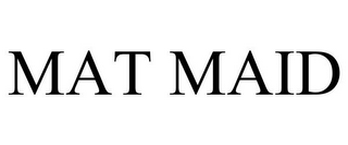 mark for MAT MAID, trademark #85770834