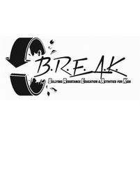 mark for B.R.E.A.K. BULLYING RESISTANCE EDUCATION & ACTIVITIES FOR KIDS, trademark #85770844