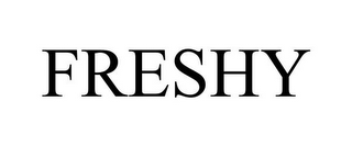 mark for FRESHY, trademark #85771035