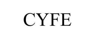 mark for CYFE, trademark #85771101