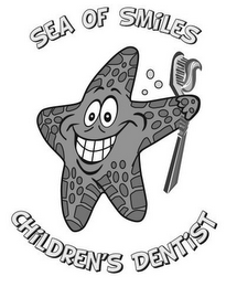 mark for SEA OF SMILES CHILDREN'S DENTIST, trademark #85771606