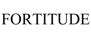 mark for FORTITUDE, trademark #85771815