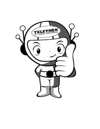 mark for TELETRON TV-AUDIO-APPLIANCES, trademark #85771982